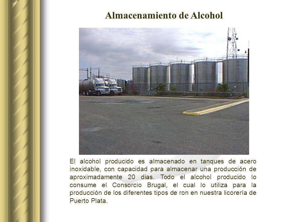 Almacenamiento de Alcohol