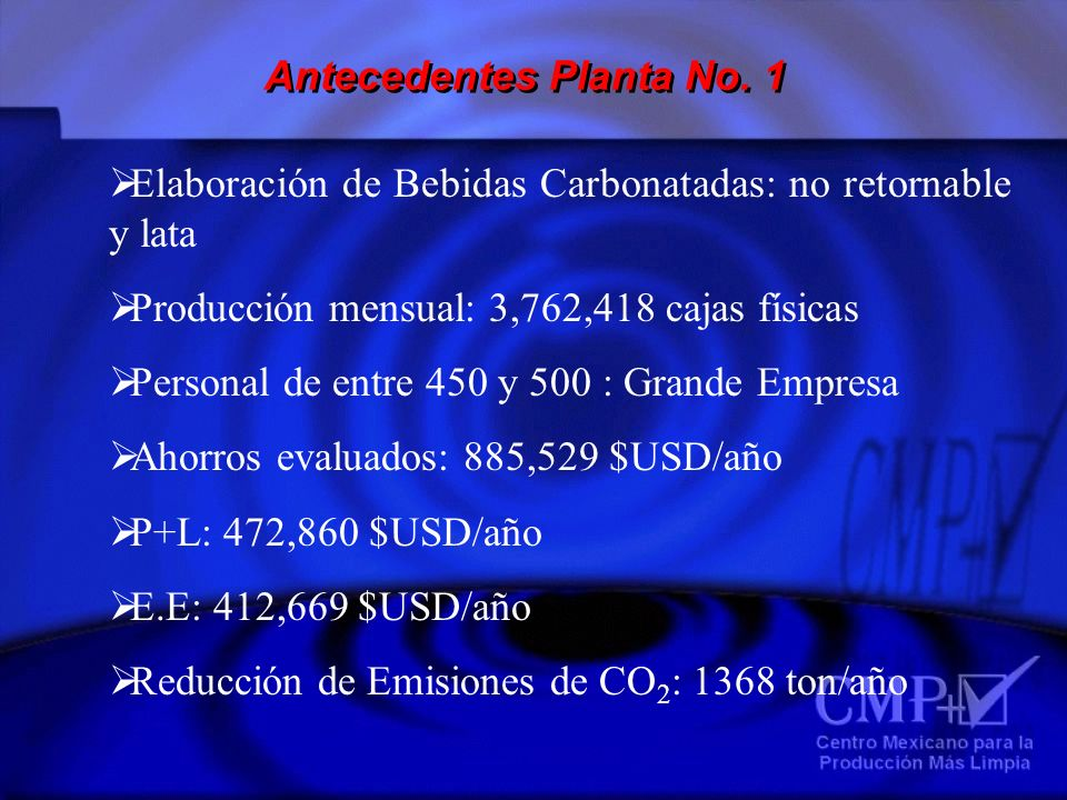 Antecedentes Planta No. 1