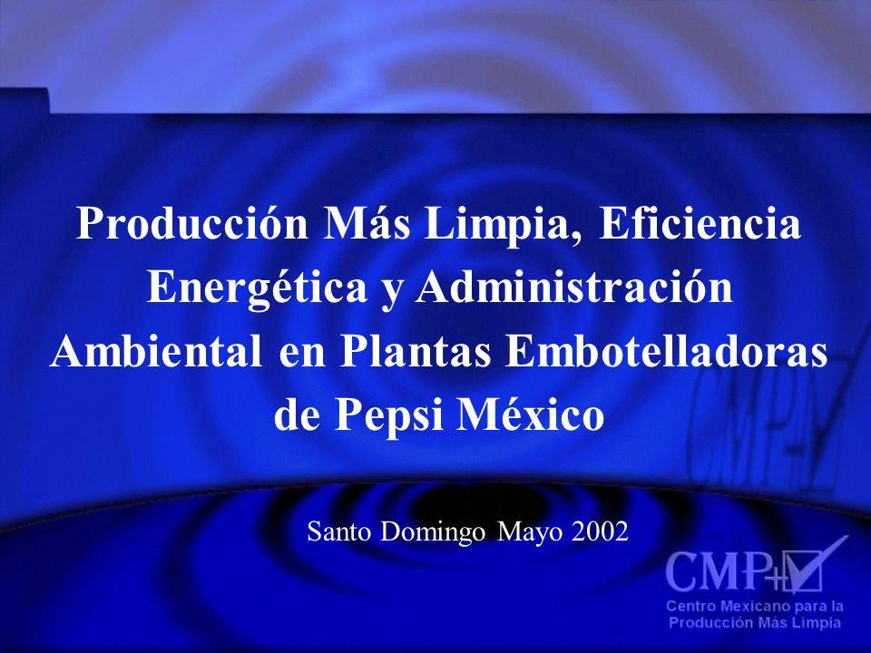 Producción Más Limpia, Eficiencia Energética y Administración Ambiental en Plantas Embotelladoras