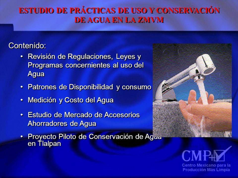 ESTUDIO DE PRÁCTICAS DE USO Y CONSERVACIÓN
