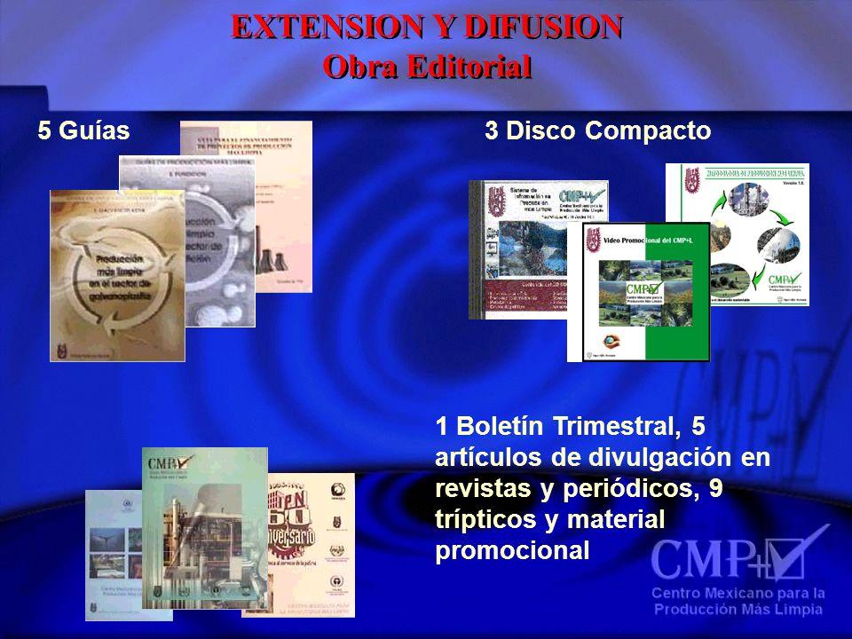 EXTENSION Y DIFUSION Obra Editorial