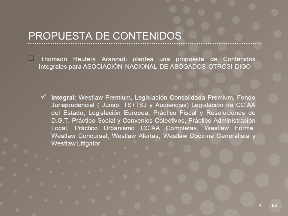 PROPUESTA DE CONTENIDOS