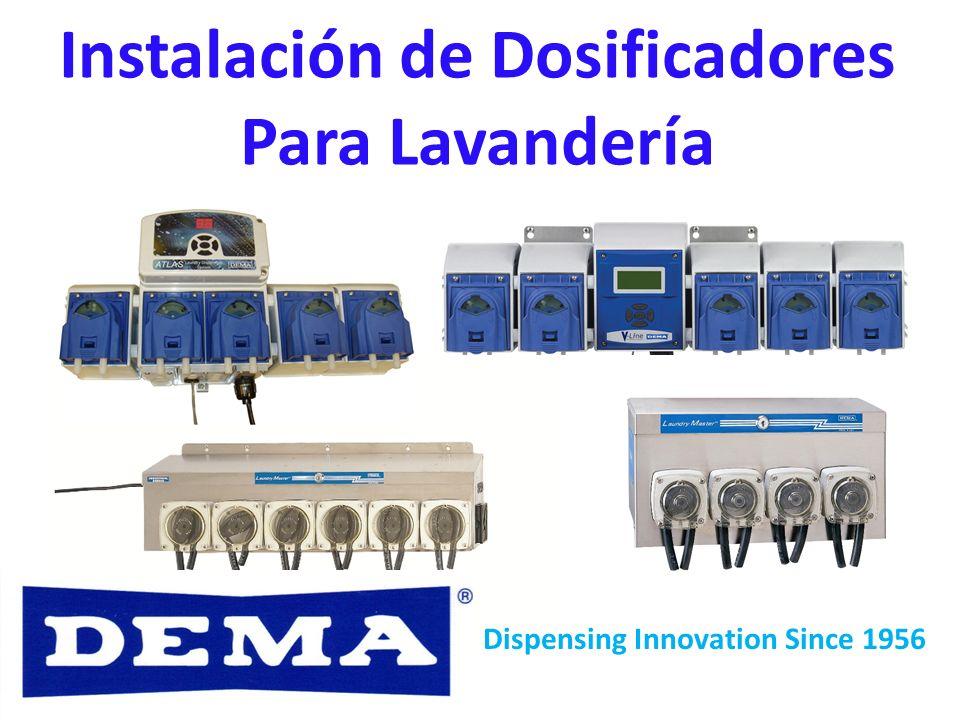 Instalación de Dosificadores