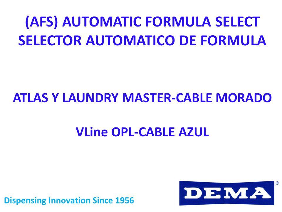 (AFS) AUTOMATIC FORMULA SELECT SELECTOR AUTOMATICO DE FORMULA