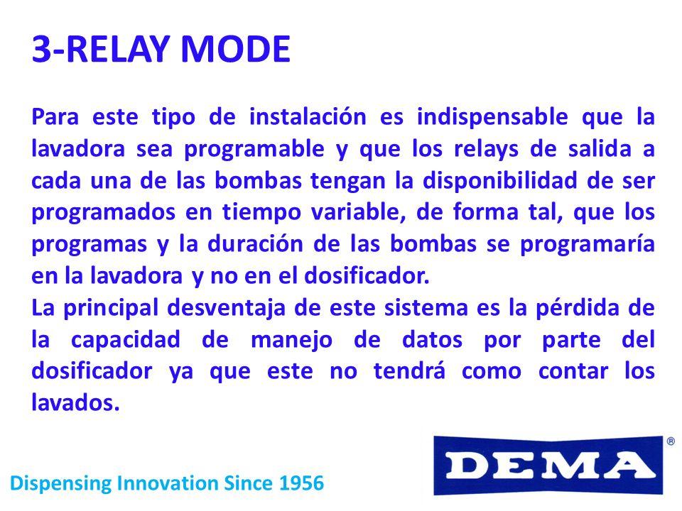 3-RELAY MODE