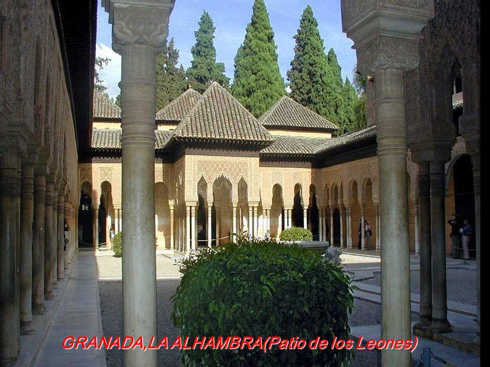 GRANADA,LA ALHAMBRA(Patio de los Leones)