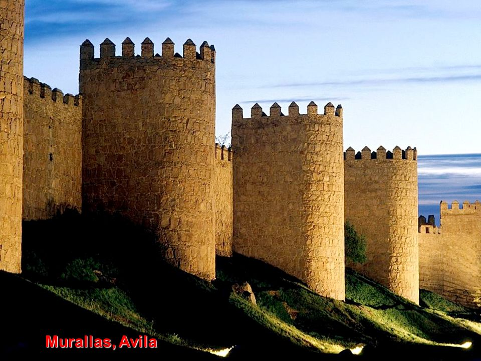 Murallas, Avila