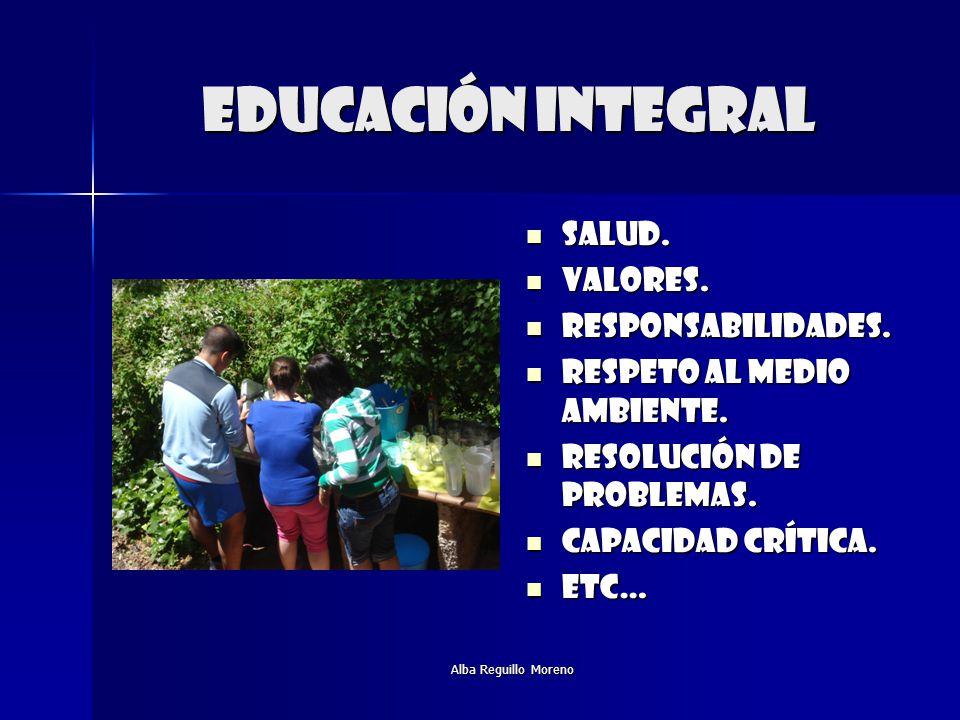 Educación integral Salud. Valores. Responsabilidades.