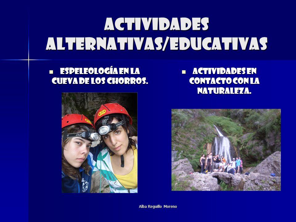 Actividades alternativas/educativas
