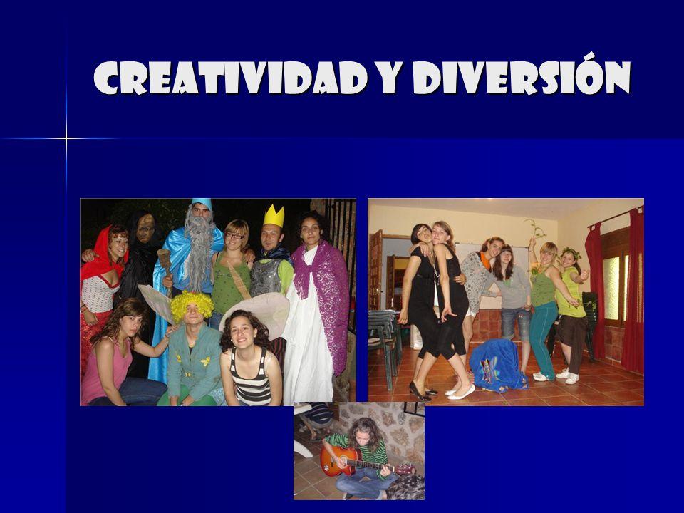 Creatividad y diversión
