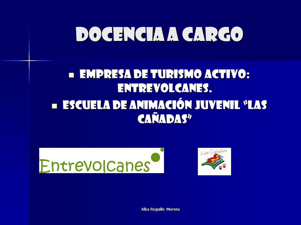 DOCENCIA A CARGO Empresa de turismo activo: entrevolcanes.