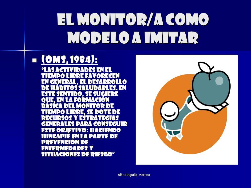 El monitor/a como modelo a imitar