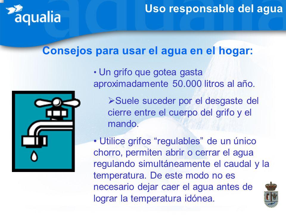 Consejos para usar el agua en el hogar: