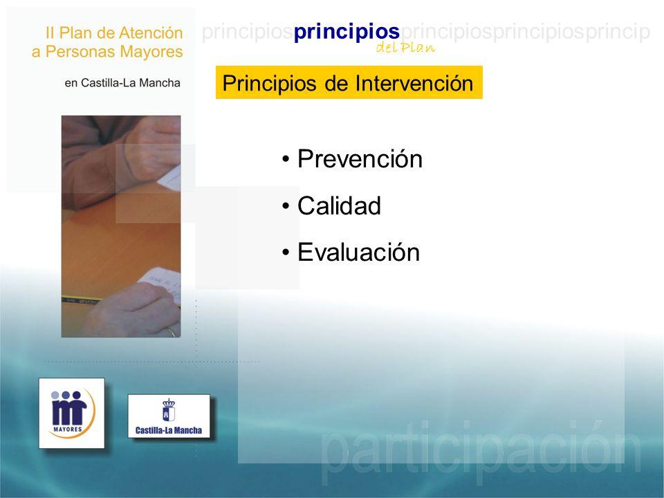 Prevención Calidad Evaluación