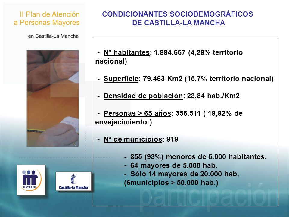 CONDICIONANTES SOCIODEMOGRÁFICOS