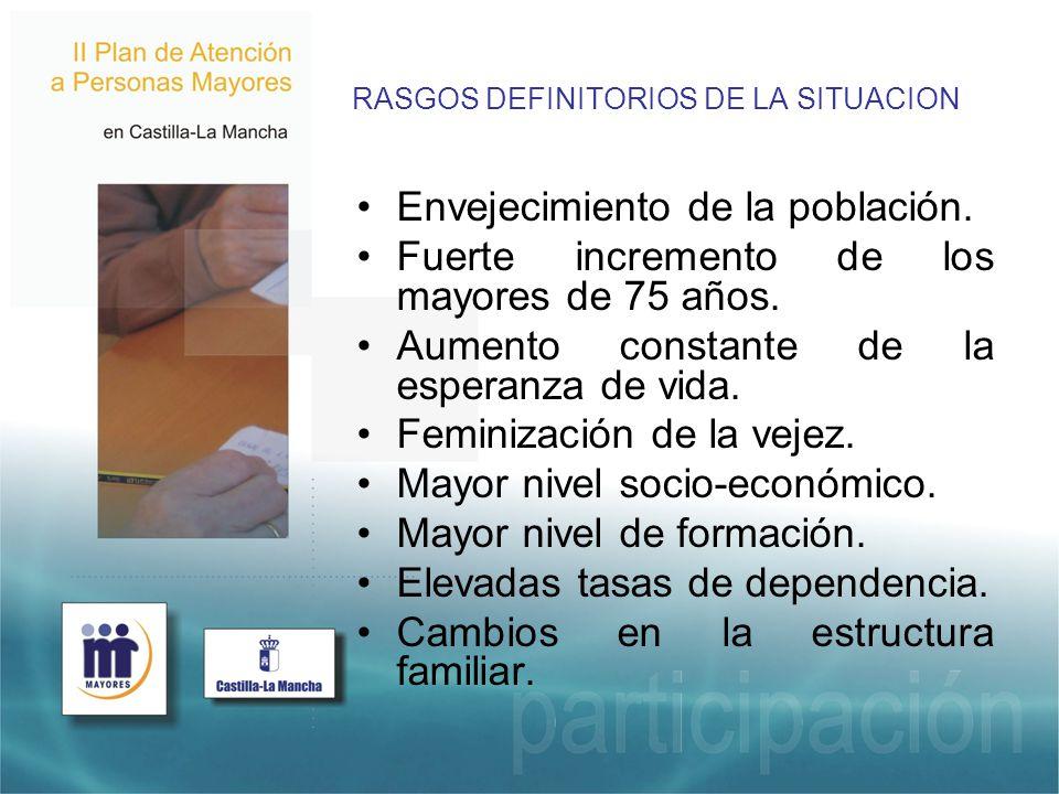 RASGOS DEFINITORIOS DE LA SITUACION