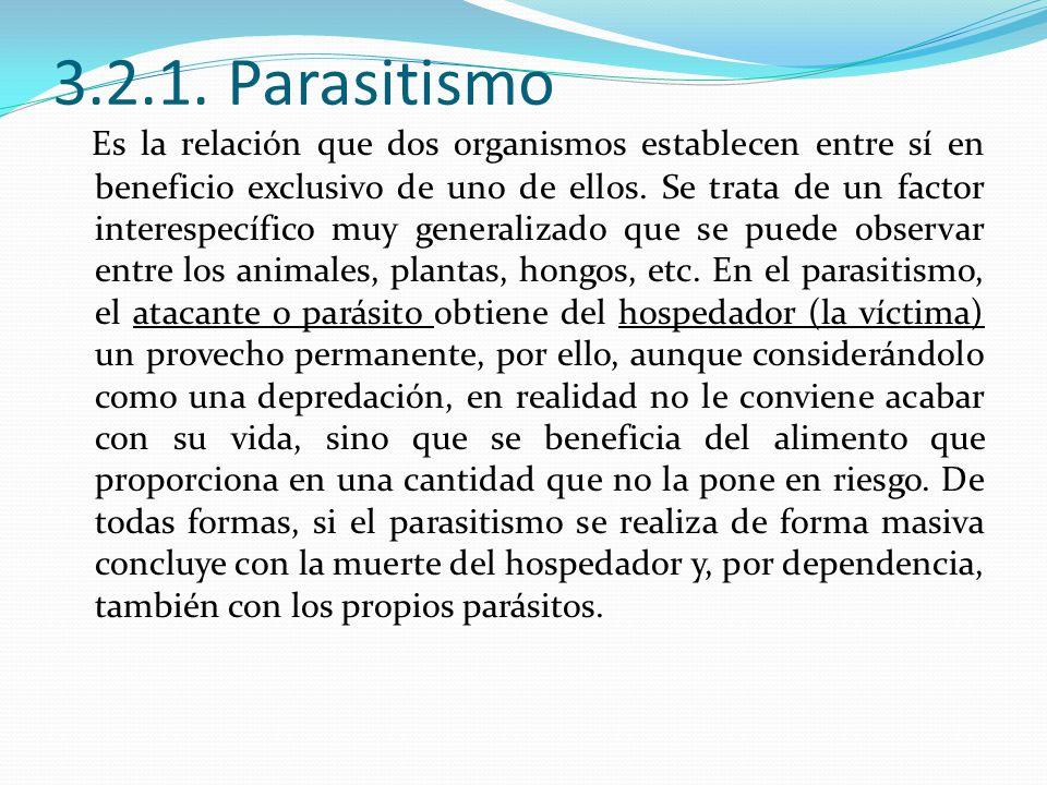 3.2.1. Parasitismo