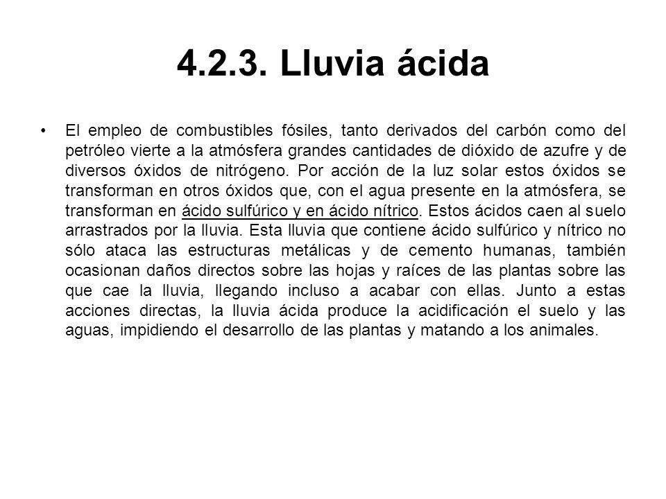 4.2.3. Lluvia ácida