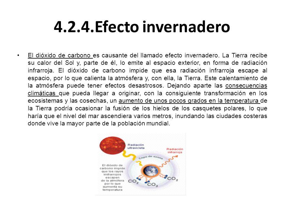 4.2.4.Efecto invernadero