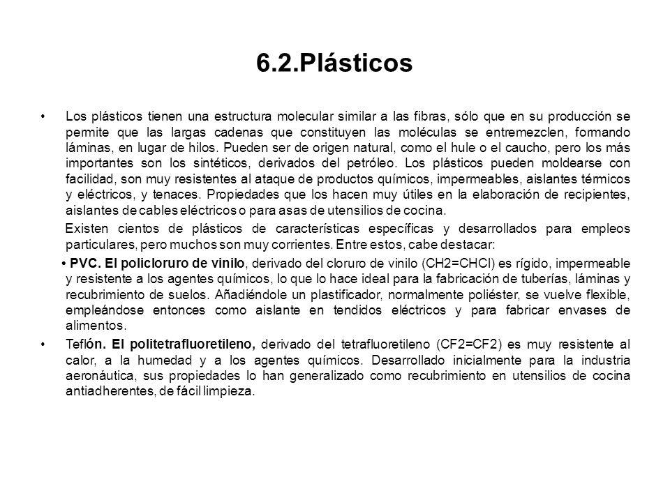 6.2.Plásticos