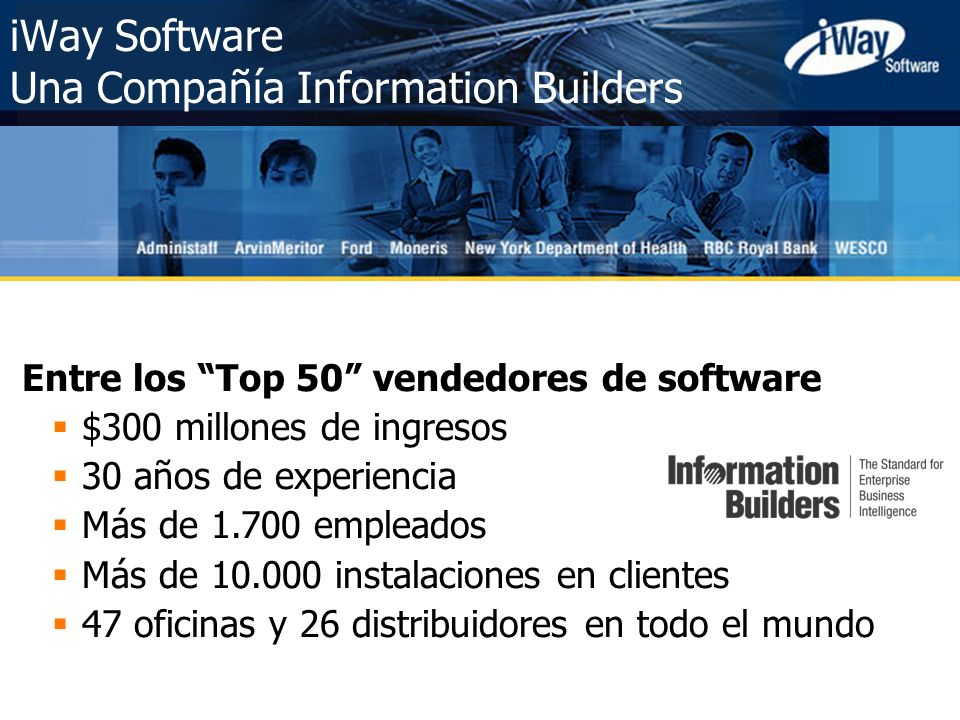 iWay Software Una Compañía Information Builders