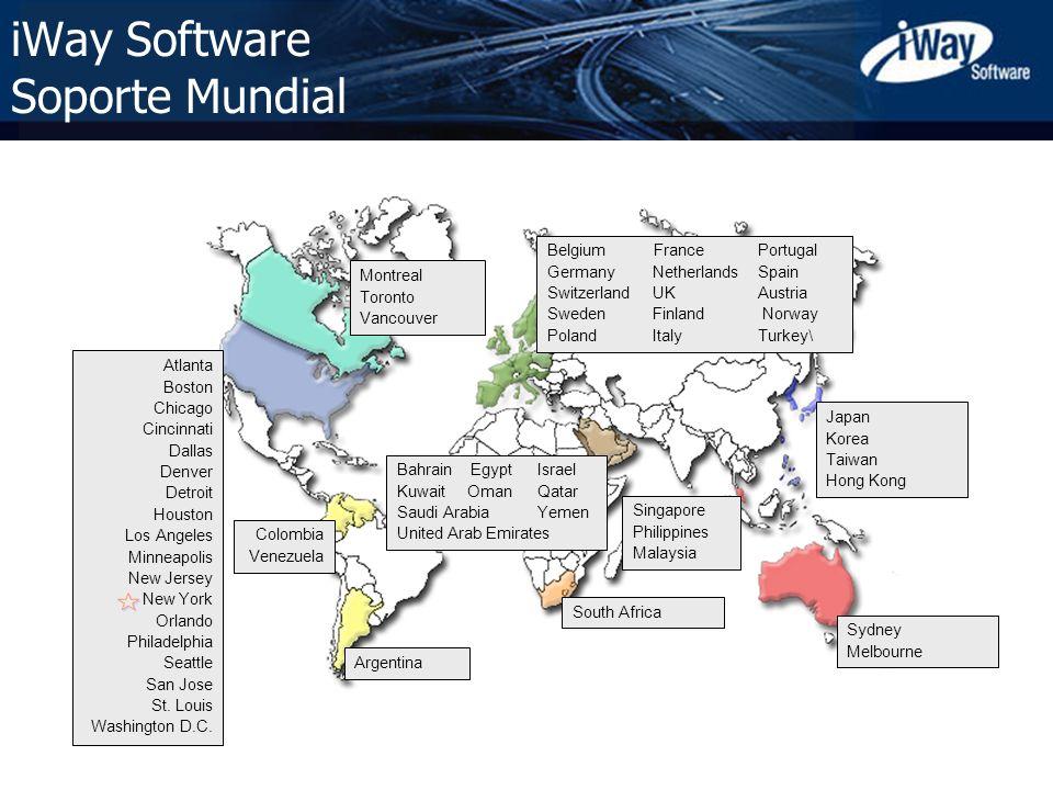 iWay Software Soporte Mundial