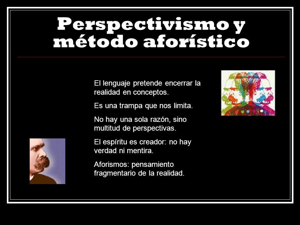 Perspectivismo y método aforístico