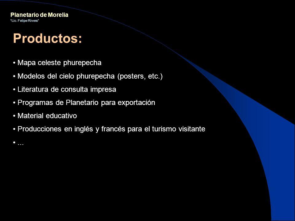 Productos: Mapa celeste phurepecha