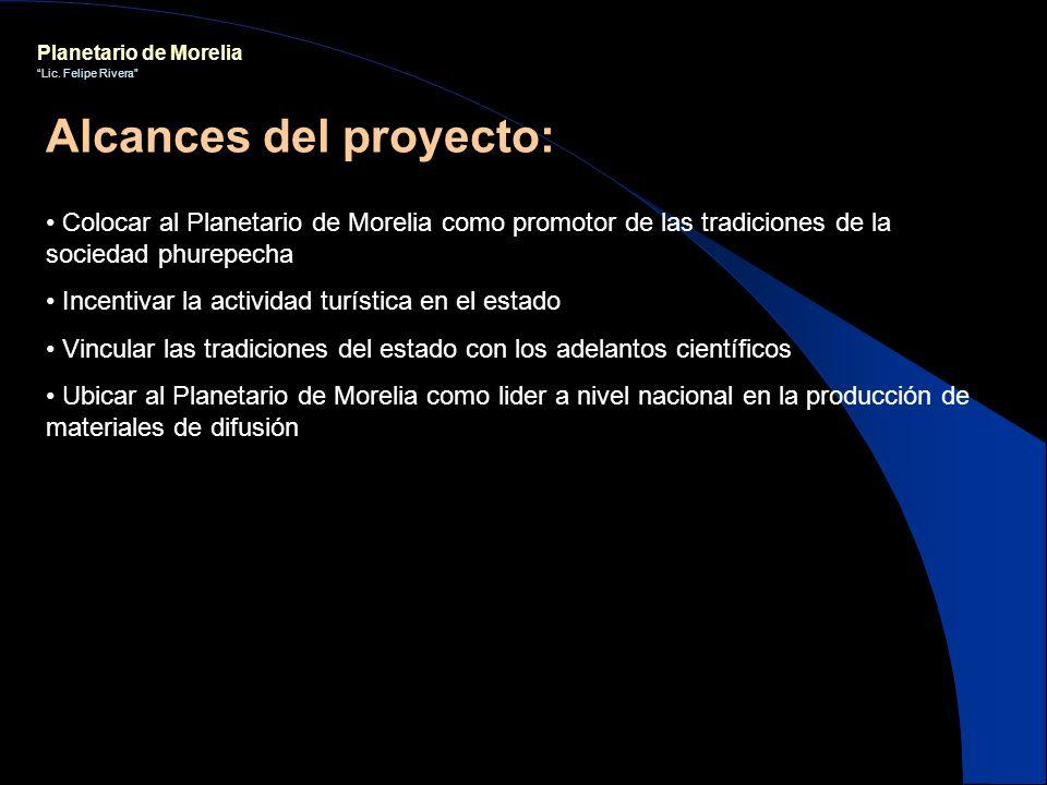 Alcances del proyecto: