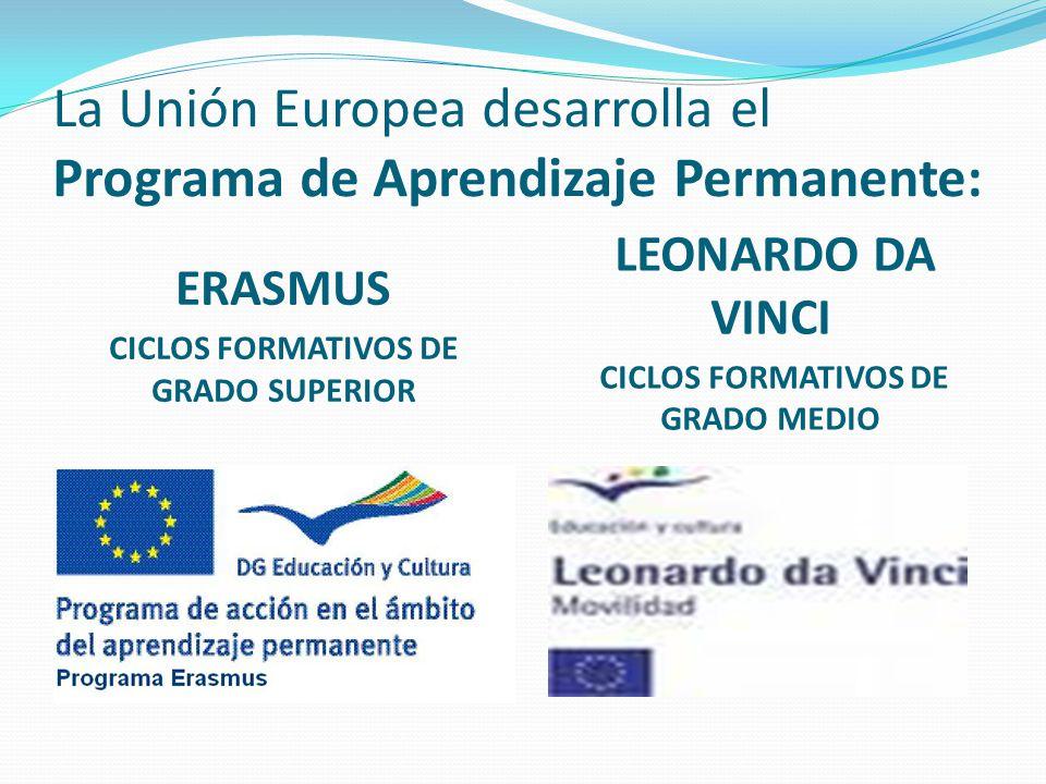 La Unión Europea desarrolla el Programa de Aprendizaje Permanente: