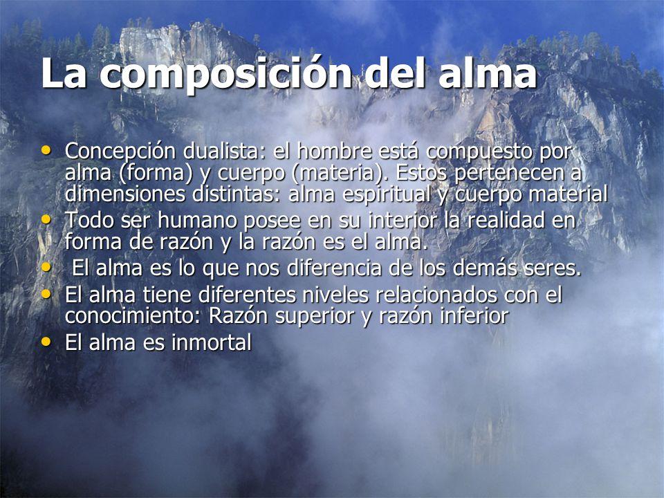La composición del alma