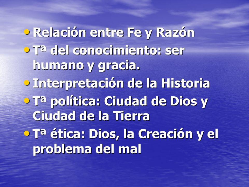 Relación entre Fe y Razón