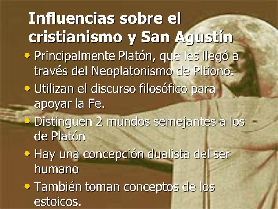 Influencias sobre el cristianismo y San Agustín