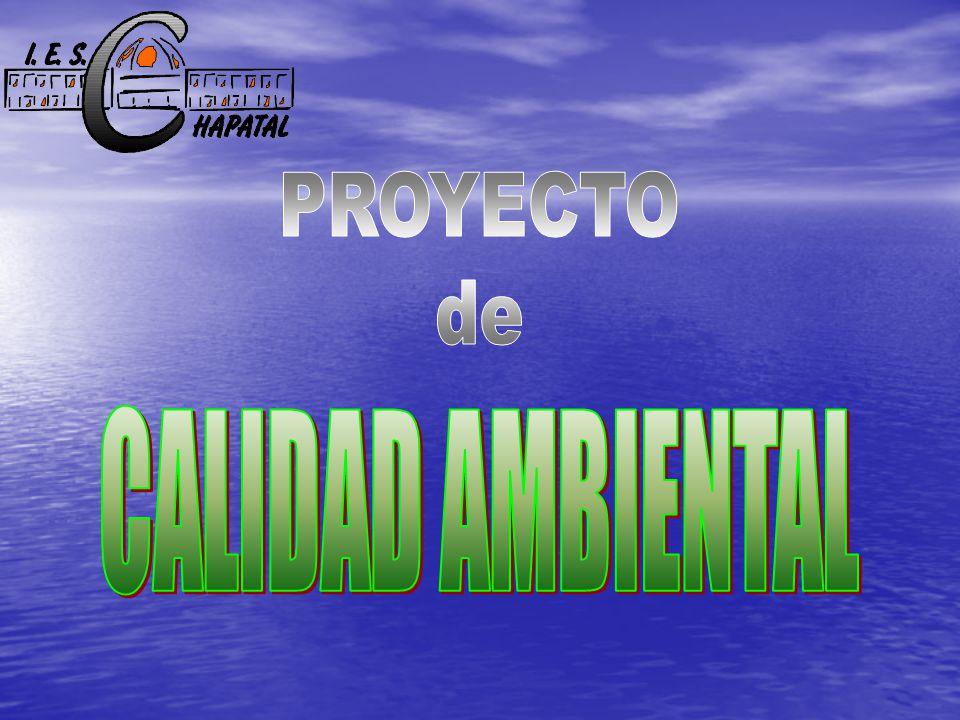 PROYECTO de CALIDAD AMBIENTAL