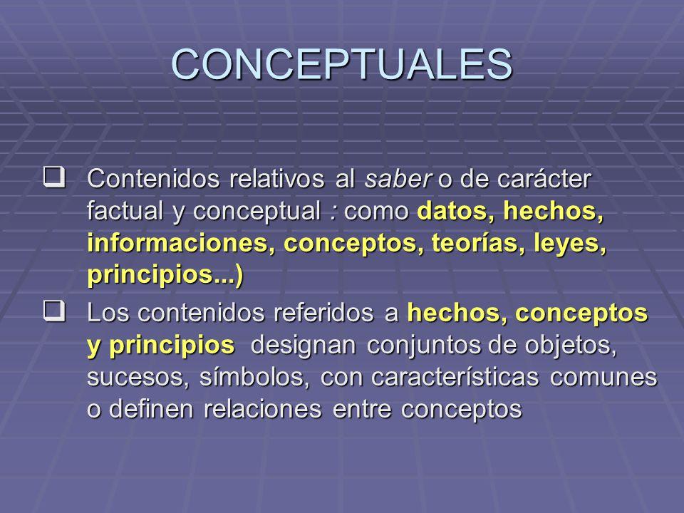 CONCEPTUALES