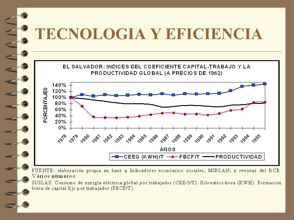 TECNOLOGIA Y EFICIENCIA