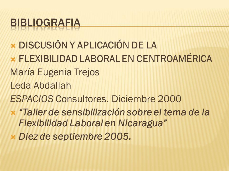 bibliografia DISCUSIÓN Y APLICACIÓN DE LA