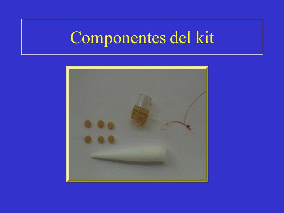 Componentes del kit