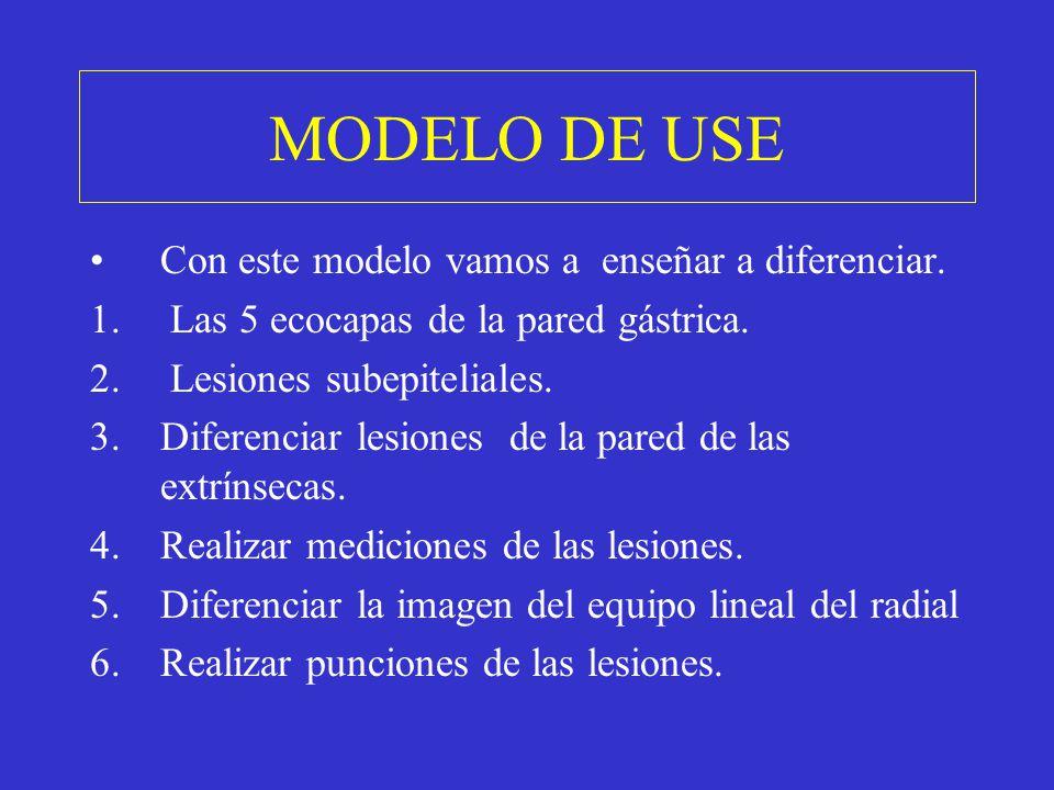 MODELO DE USE Con este modelo vamos a enseñar a diferenciar.