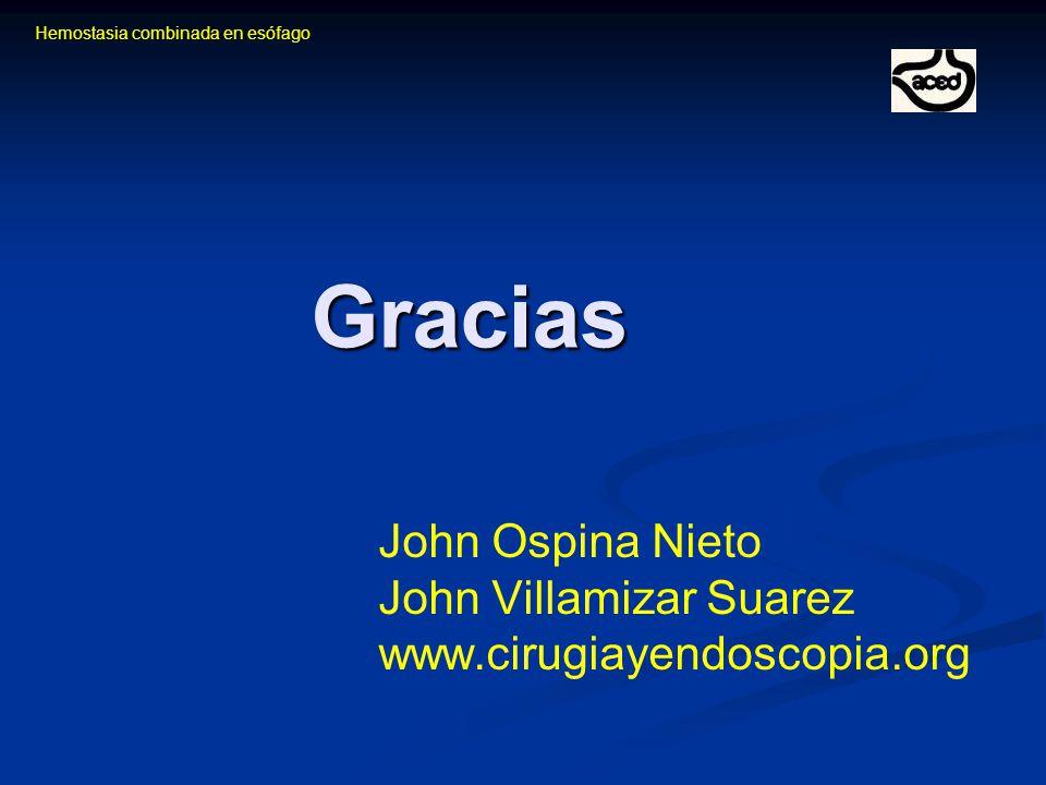 John Ospina Nieto John Villamizar Suarez www.cirugiayendoscopia.org
