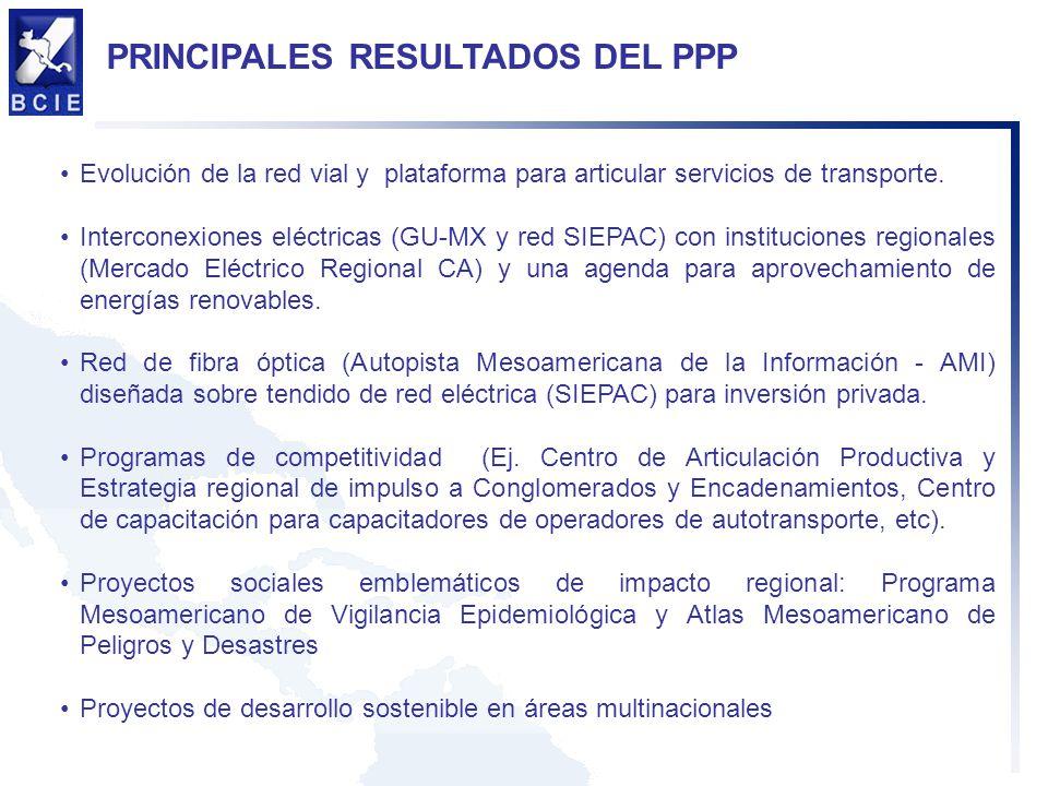 PRINCIPALES RESULTADOS DEL PPP