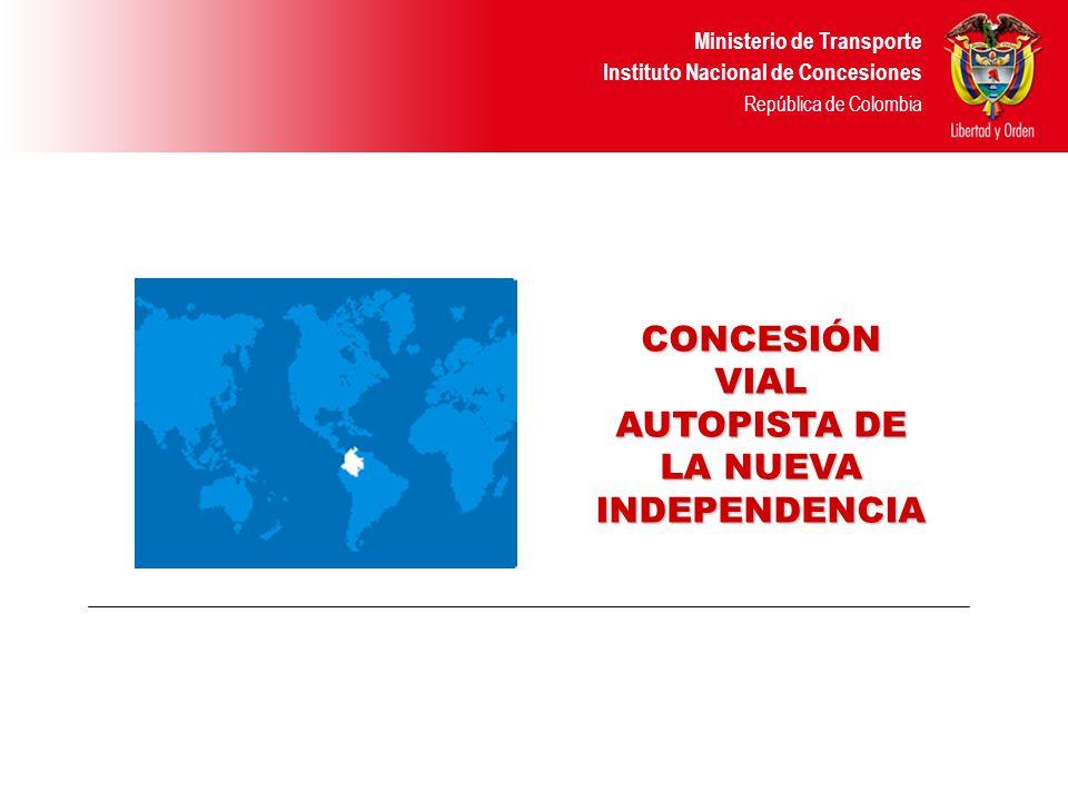 CONCESIÓN VIAL AUTOPISTA DE LA NUEVA INDEPENDENCIA