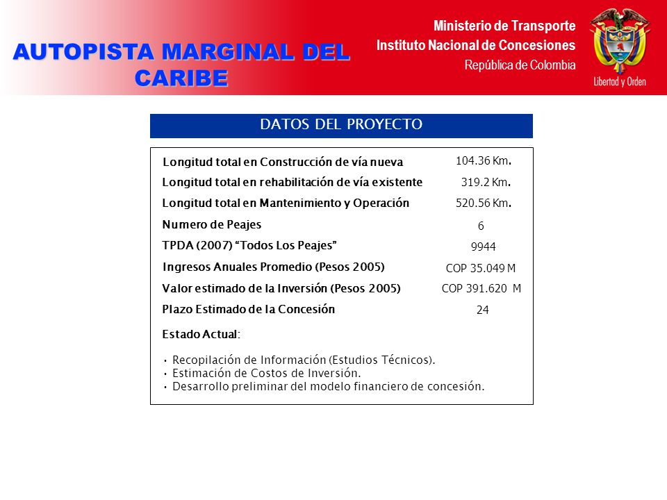 AUTOPISTA MARGINAL DEL CARIBE