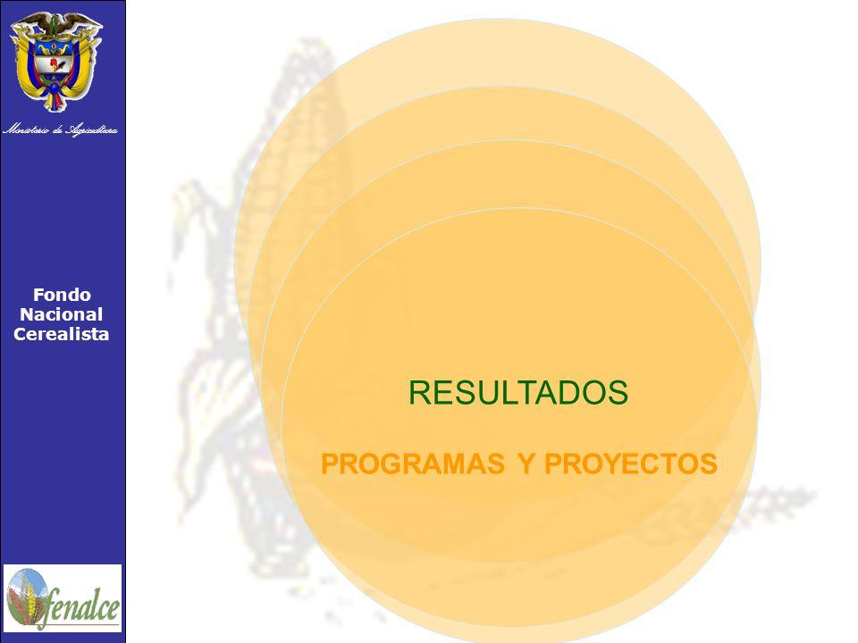 RESULTADOS PROGRAMAS Y PROYECTOS