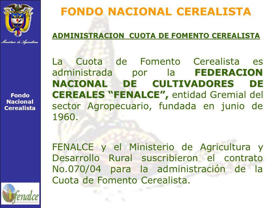 FONDO NACIONAL CEREALISTA