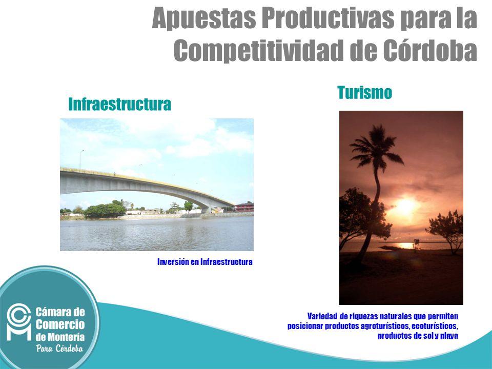 Apuestas Productivas para la Competitividad de Córdoba
