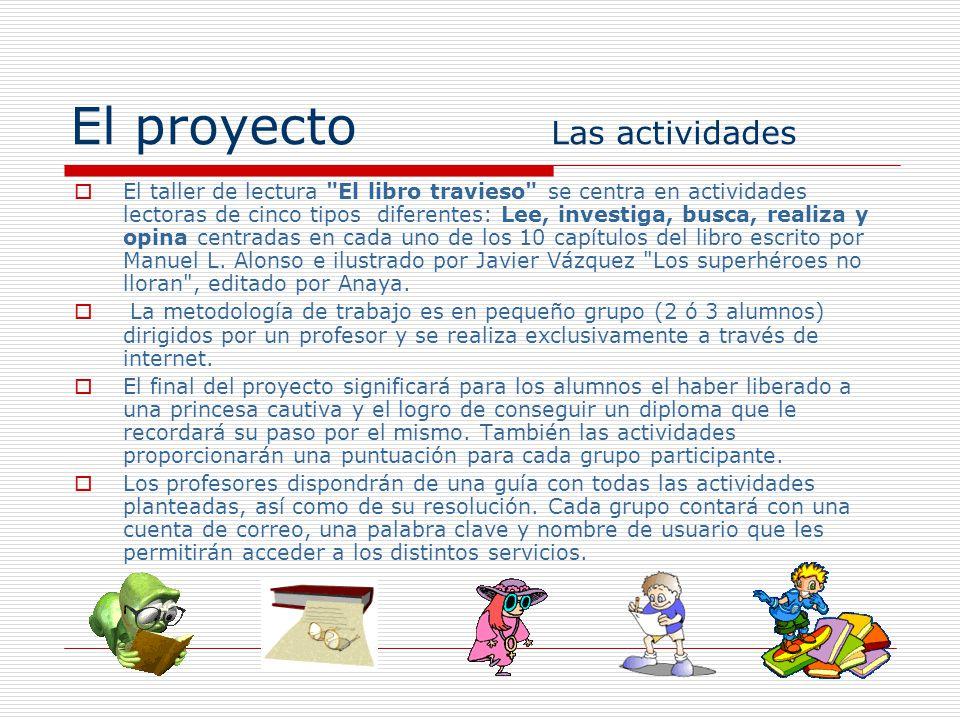 El proyecto Las actividades
