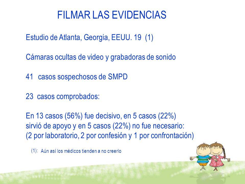 FILMAR LAS EVIDENCIAS Estudio de Atlanta, Georgia, EEUU. 19 (1)