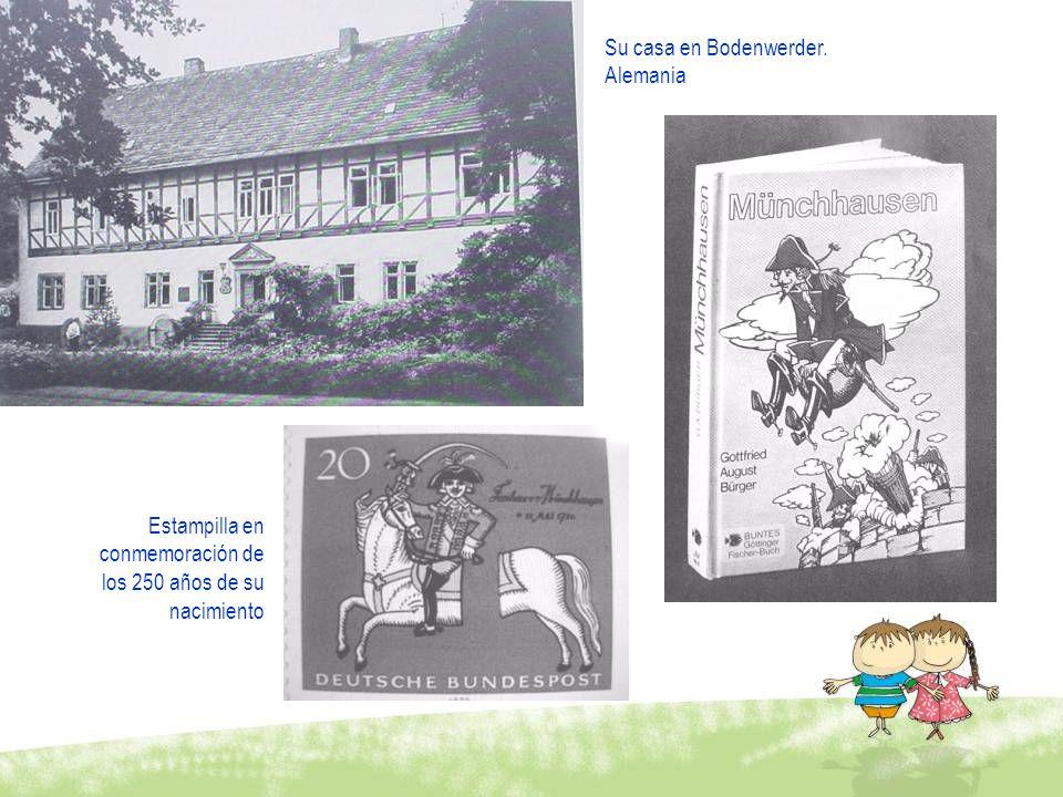 Su casa en Bodenwerder. Alemania