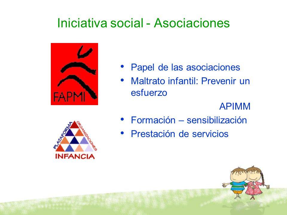 Iniciativa social - Asociaciones
